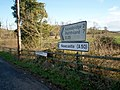 Signpost at Castlevennon Road and Knockgorm Road Junction - geograph.org.uk - 703377.jpg
