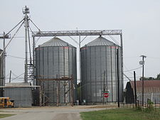 Silos in Thorndale