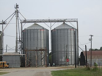 Thorndale, Texas - Silos in Thorndale