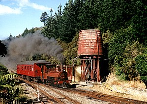 Railway preservation in New Zealand - Image: Silver Stream Railway 2002 03 06
