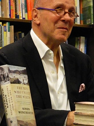 Simon Winchester - Winchester in New York City, 2013