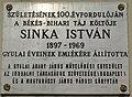 Sinka István Plaque Gyula.jpg