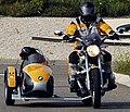 Sinsheim - Motorradgespann BMW mit ein Hund.JPG