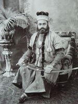Loharu State - Sir Amiruddin Ahmad Khan Nawab of Loharu,1884-1920.