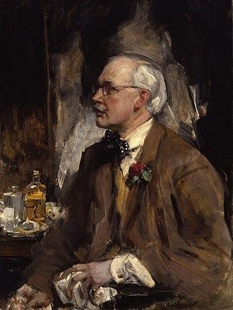 James Jebusa Shannon - Self-portrait of James Jebusa Shannon, circa 1919