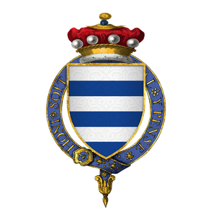 Richard Grey, 4th Baron Grey of Codnor - Arms of Sir Richard Grey, 4th Baron Grey of Codnor, KG