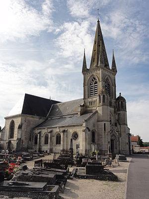Sissonne - The church of Sissonne