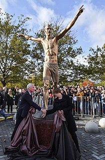 Statue of Zlatan