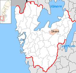 Skara Municipality in Västra Götaland County.png