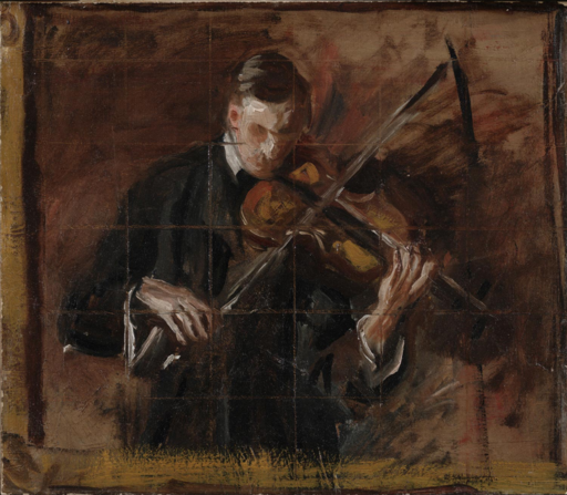 Sketch for Music - The Violinist