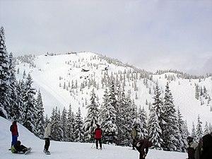 Mount Hood Skibowl - Image: Skibowl peak