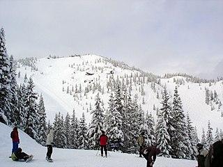 Mount Hood Skibowl recreation area on Mount Hood located near Government Camp, Oregon