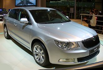 Central Bohemian Region - Škoda Superb produced in Mladá Boleslav