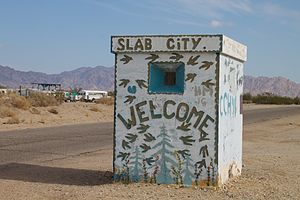 Slab City, California - Slab City