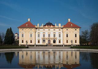 Slavkov u Brna Town in Czech Republic