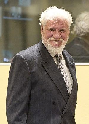 Slobodan Praljak - Praljak in 2013