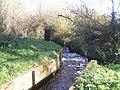 Sluice at Dimmingsdale Lock - geograph.org.uk - 280966.jpg