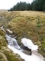 Small waterfall on the Allt a'Choin Bhain - geograph.org.uk - 1710073.jpg