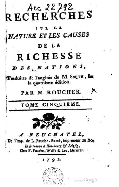File:Smith - Recherches sur la nature et les causes de la richesse des nations, Roucher, 1792, V.djvu