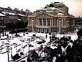 Snowy Rijeka - Kazalište Ivan pl. Zajc - panoramio.jpg