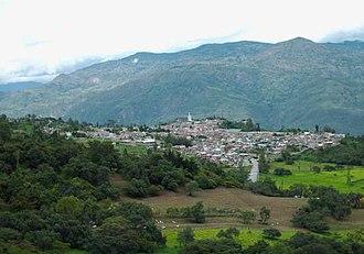 Soatá - View of Soatá