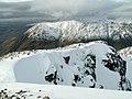 Sob Coire nan Lochan Ridge looking to Aonach Dubh - geograph.org.uk - 730854.jpg