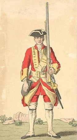 Soldier of 29th regiment 1742.jpg
