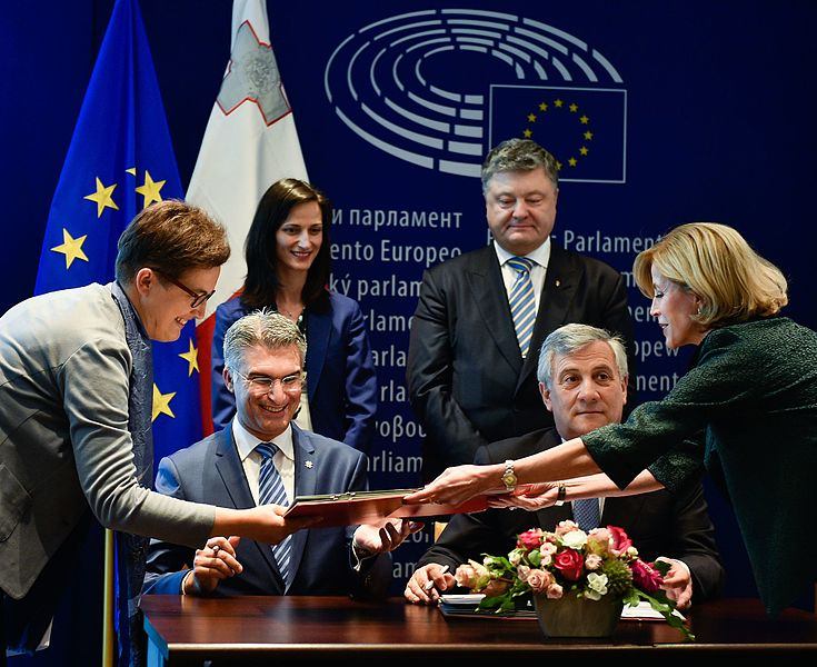 Solemn ceremony of signing the document on visa liberalisation with the EU for Ukrainians 02.jpg