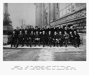 Solvay Conference - Image: Solvay conference 1913
