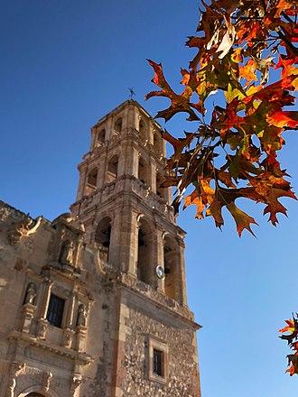 Sombrerete, Zacatecas - San Juan Bautista Parish.