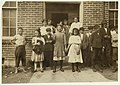Some samples (not all) of the children in the 'Kindergarten Factory' run by the High Point and Piedmont Hosiery Mills, High Point, N.C. Every child in these photos worked; I saw them at work LOC nclc.02637.jpg