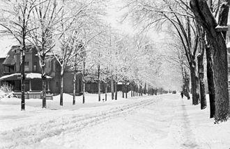 Somerset Street (Ottawa) - Somerset Street, 1916