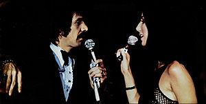 Sonny & Cher - Performing live in 1971.