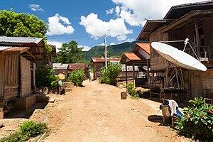 Ngoy District - Image: Sop Keng village(2)