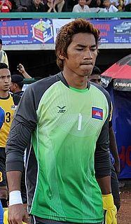 Sou Yaty Cambodian footballer