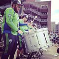 Sound Wave at the Sounders post-game celebration - Stierch.jpg