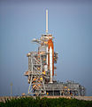 Space Shuttle Discovery on Launch Pad 39A for mission STS-133.jpg