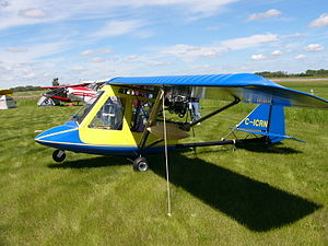 Spectrum Beaver - Spectrum Beaver RX 550 with home-built enclosure at the COPA Convention in Wetaskiwin, Alberta