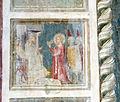Spinello aretino, santa caterina con la ruota, davanti al re.JPG