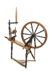 Spinnrock - Hallwylska museet - 108480.tif