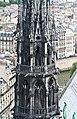 Spire of Notre-Dame de Paris, 29 May 2009.jpg