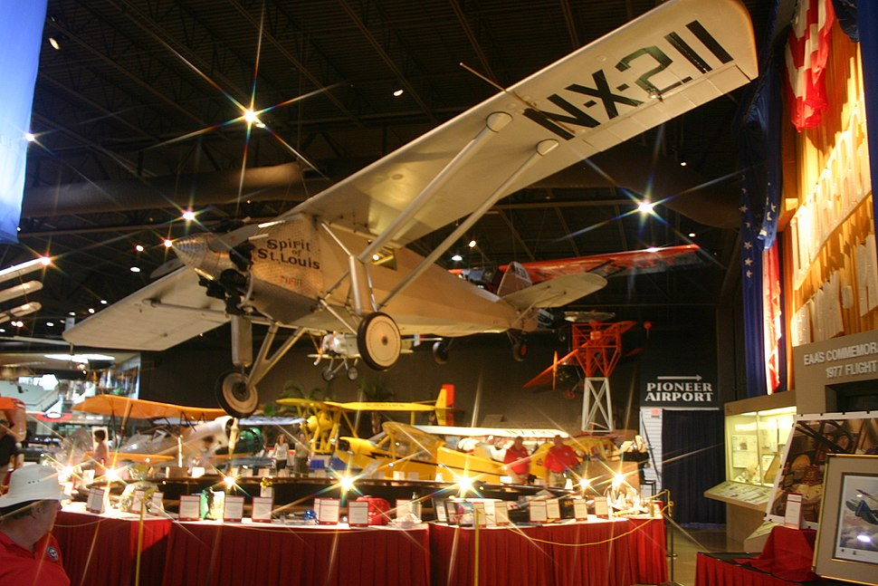 Spirit of St Louis at EAA Museum