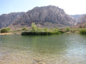 Spring Mountain Ranch State Park - Image: Spring Mountain Ranch Reservoir 2009