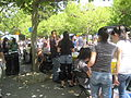 Sproul Plaza during Cal Day 2010 7.JPG