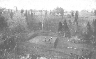 Richmond Country Club - The Golf Course in 1900