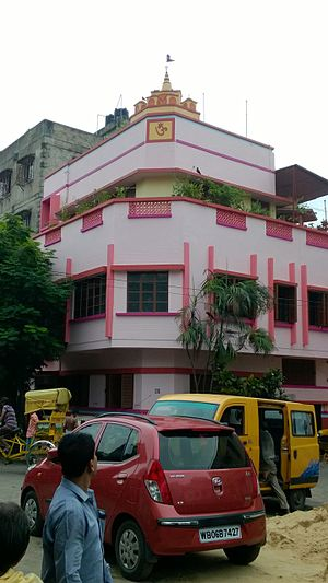 Entally -  Sri Sri Radha Mohan Jew / Jeu temple house at Panbagan