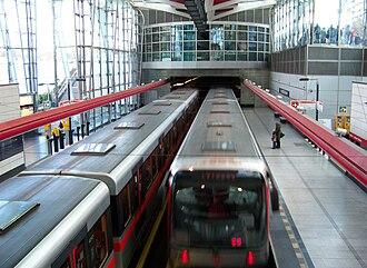 Metro M1 (Prague) - Metro M1, station Střížkov on line C