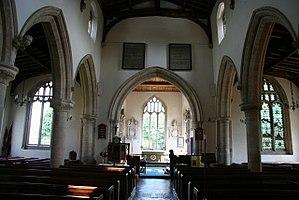Ryhall - Nave of the church
