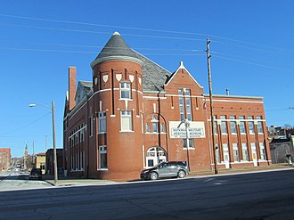 National Register of Historic Places listings in Buchanan County, Missouri - Image: St. Joseph Police Dept & National Military Museum 701 S. 7th., St. Joseph, MO