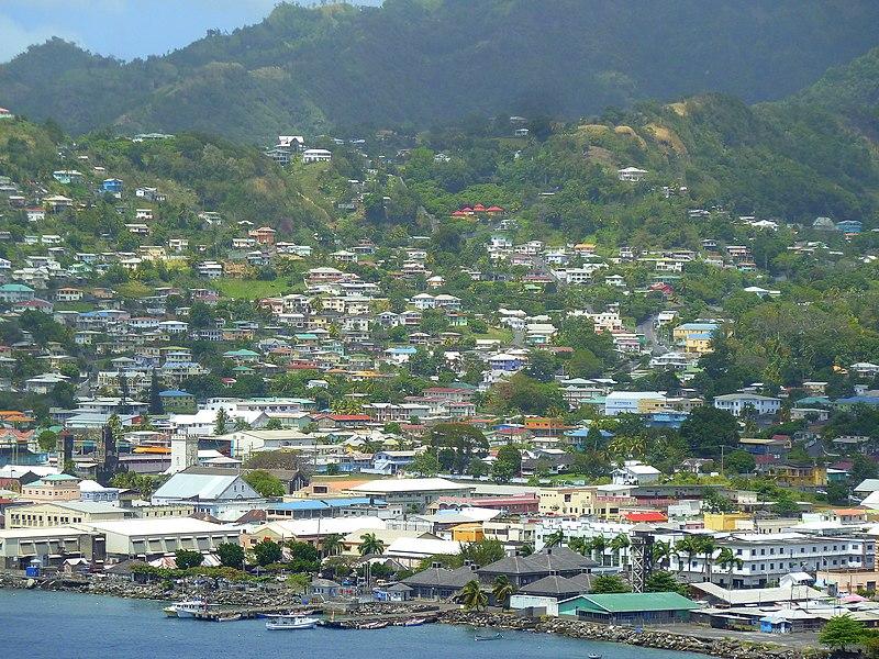 File:St. Vincent, Karibik - Kingstown City - panoramio.jpg